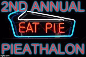 2nd annual pieathalon