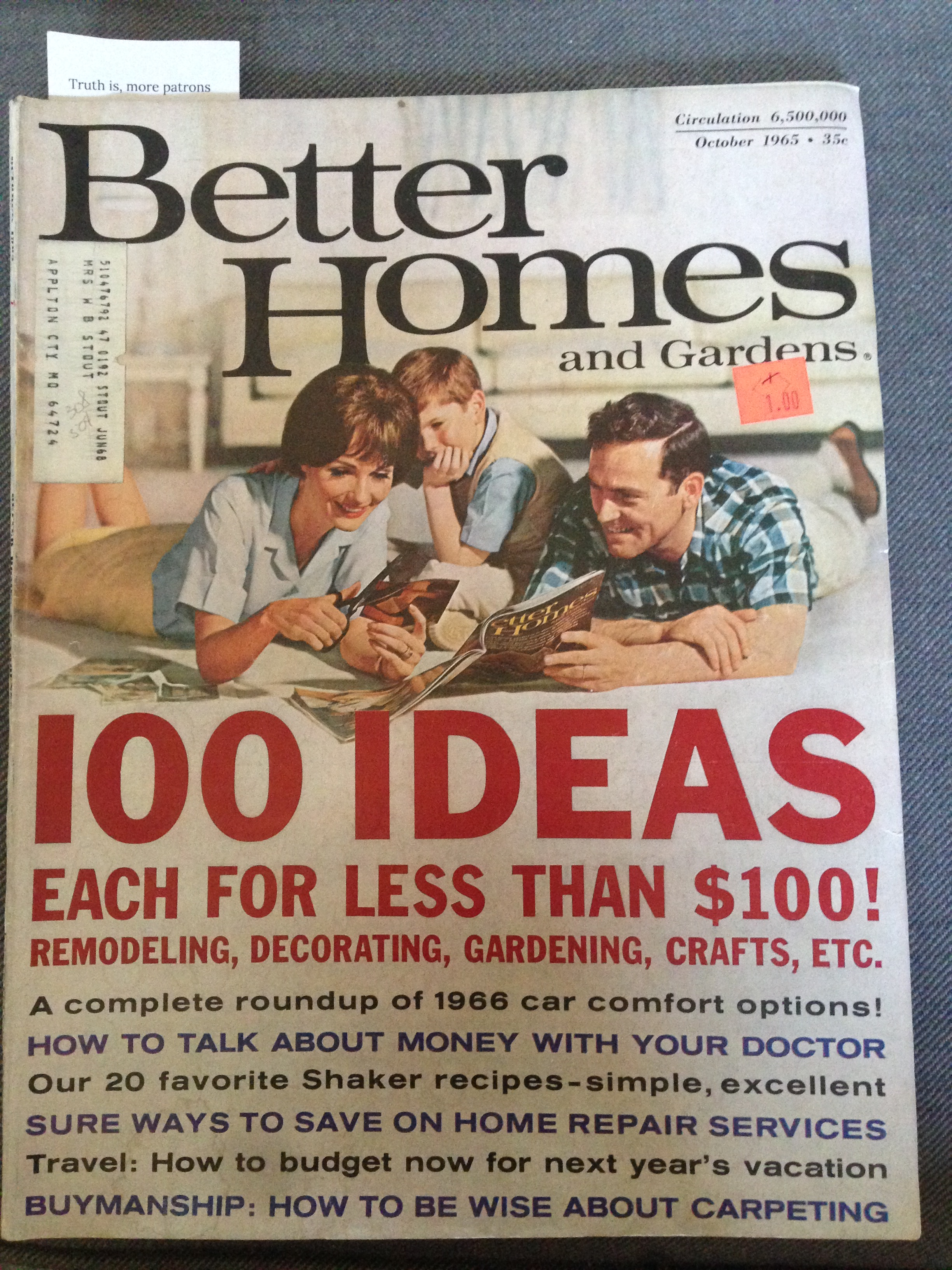 ... Better Homes And Gardens Magazine. IMG_3979